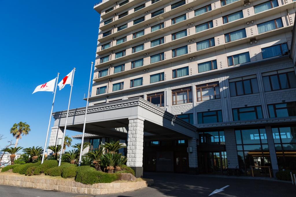 合宿会場・南紀白浜マリオットホテル