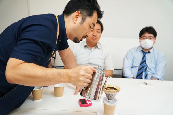 コーヒー試飲会